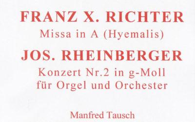 Orgelkonzert Herz-Jesu-Kirche, Juni 2014