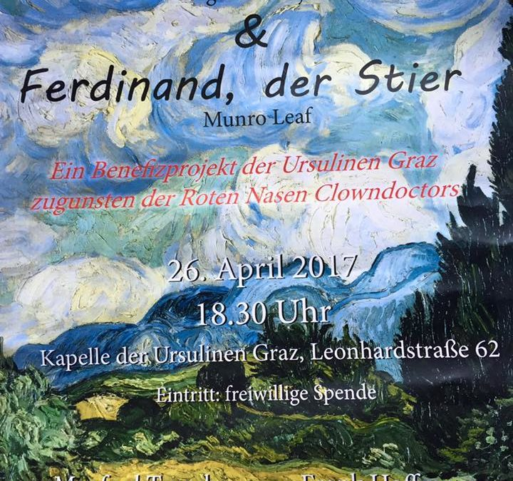 Peter und der Wolf am 26. April 2017 in der Kapelle der Ursulinen in Graz