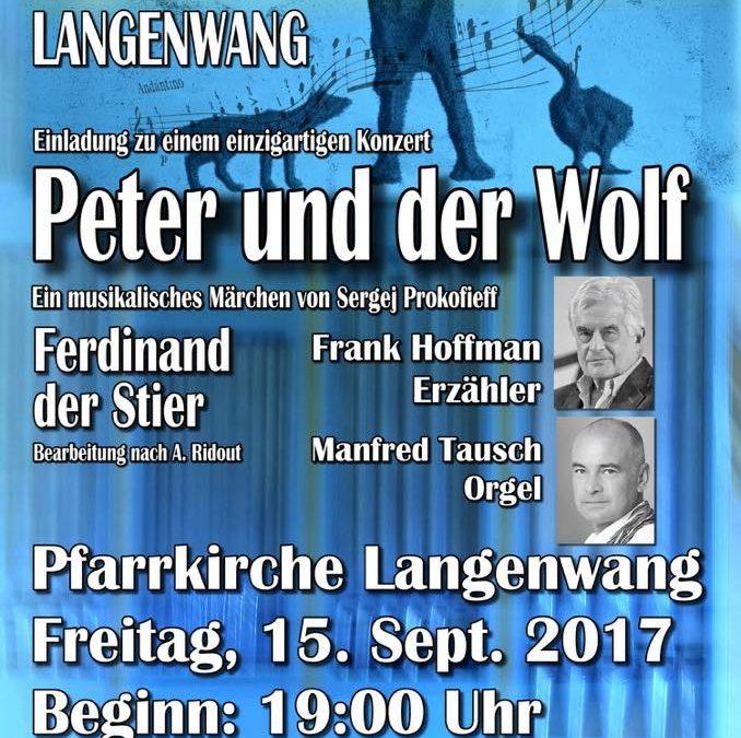 Peter und der Wolf am 15. September 2017 in der Pfarrkirche Langenwang