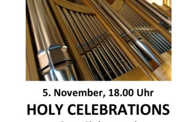 Holy Celebrations am 5. November 2017 in der Rupertikirche Trofaiach
