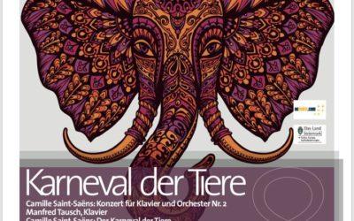 Karneval der Tiere am 8. Juni 2018 im Theatersaal des Hotel Böhlerstern in Kapfenberg